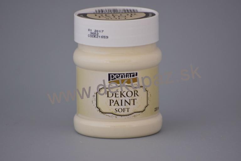 Decor paint soft, slonová kosť, 230 ml