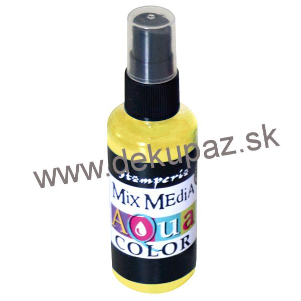 Aquacolor spray, žltá