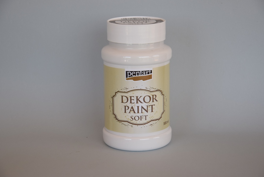 Decor paint soft, biela, 500 ml