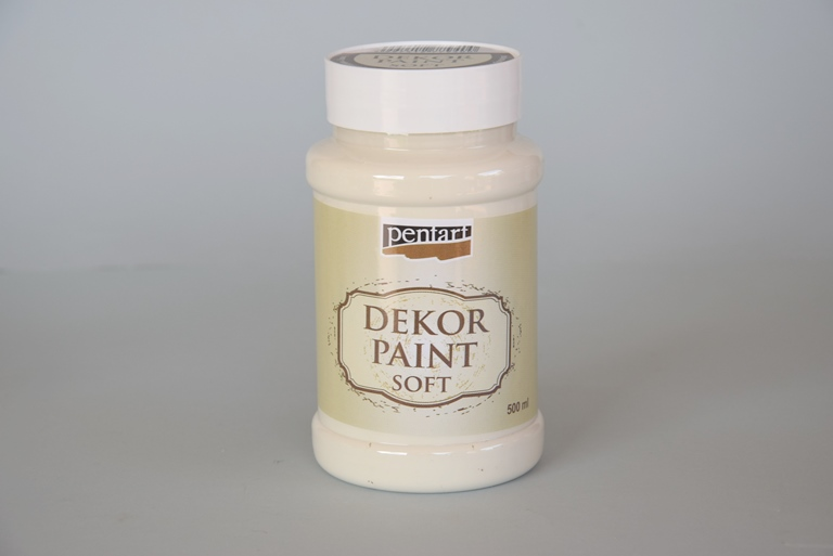 Decor paint soft, slonova kosť 500 ml