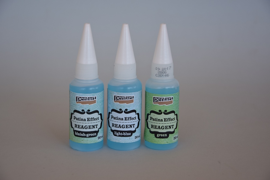 Patinovacie reagenty, 3 x20 ml
