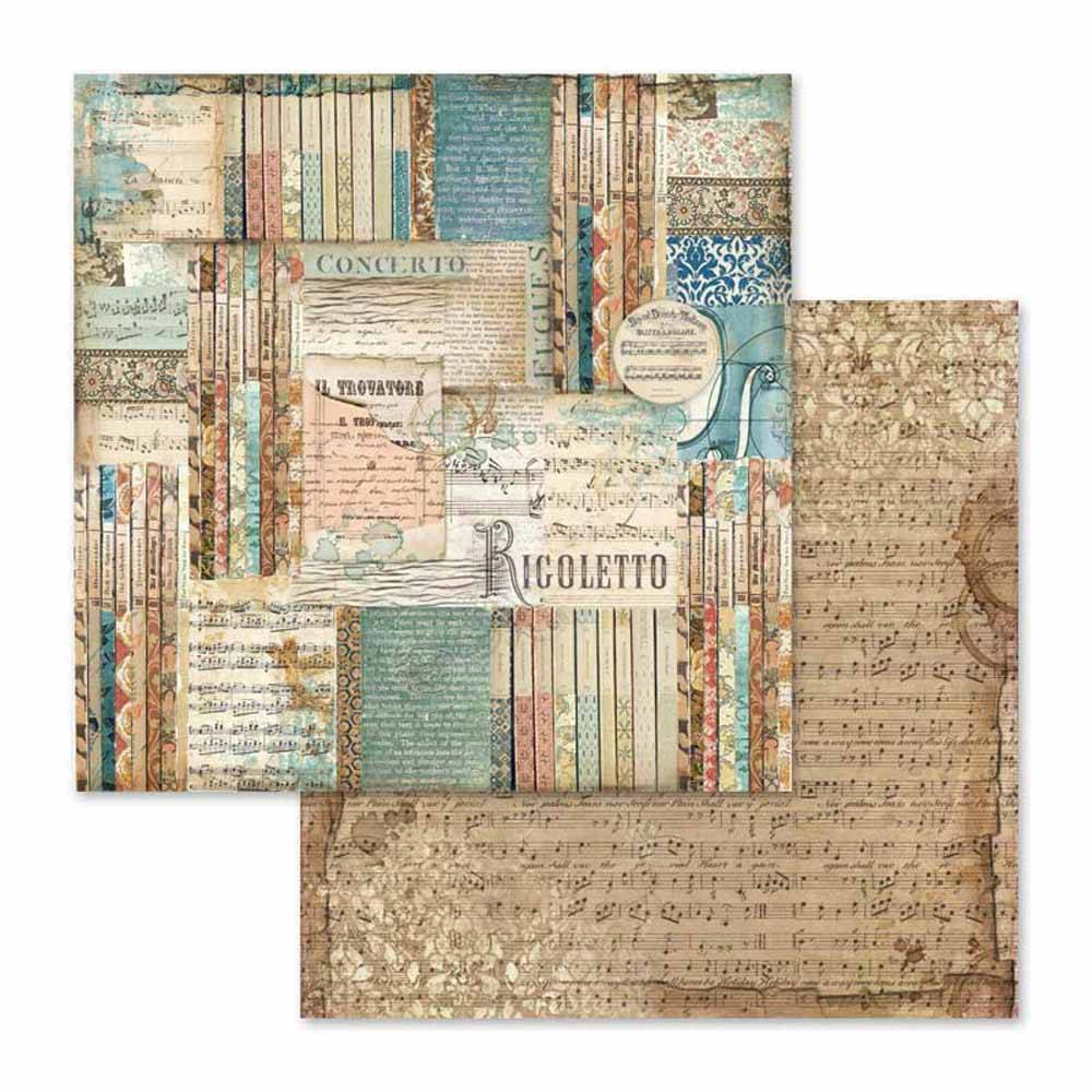 Scrapbook papier Rigoletto Stamperia