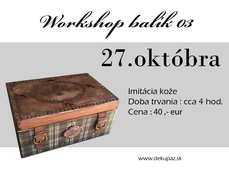 Workshop 03