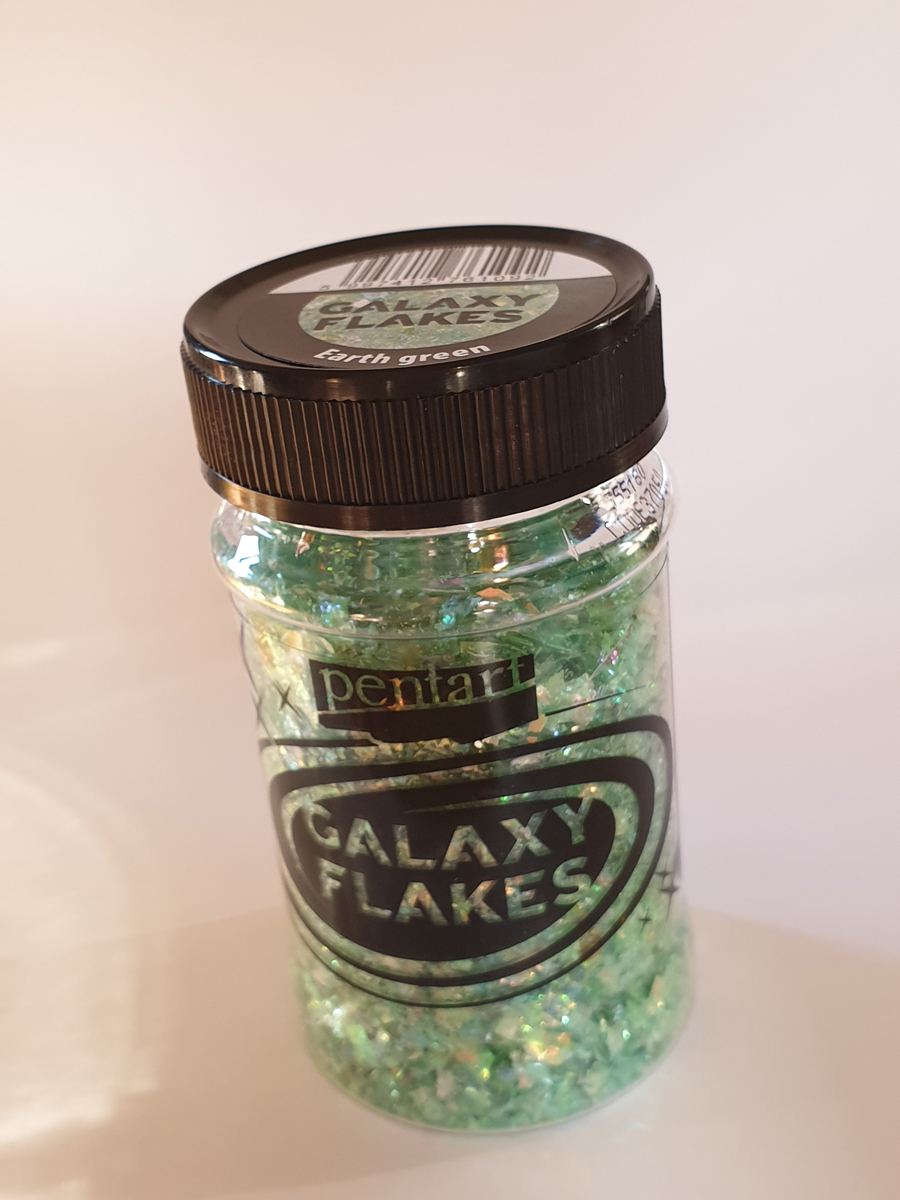 Galaxy Flakes, Earth green