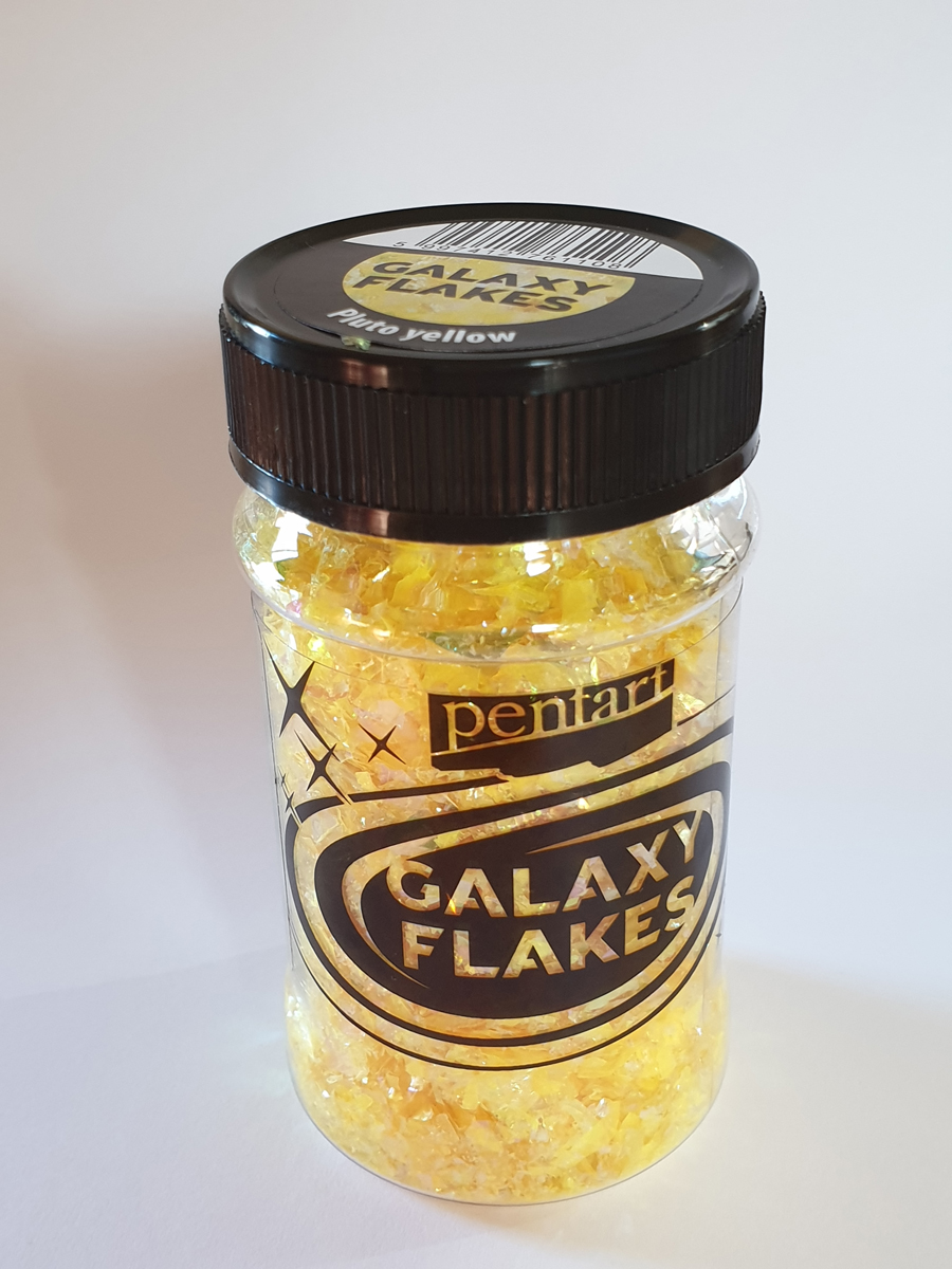 Galaxy Flakes, Pluto yellow