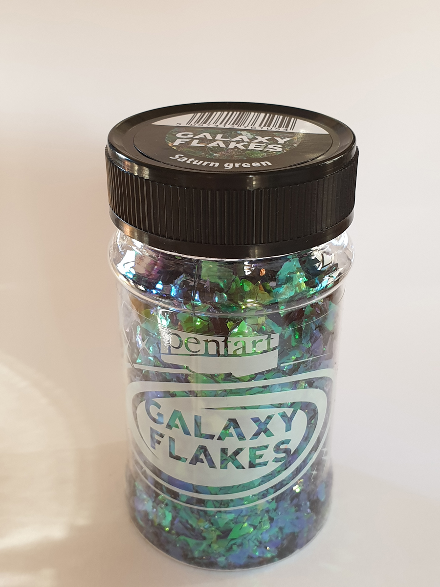 Galaxy Flakes, Saurn green