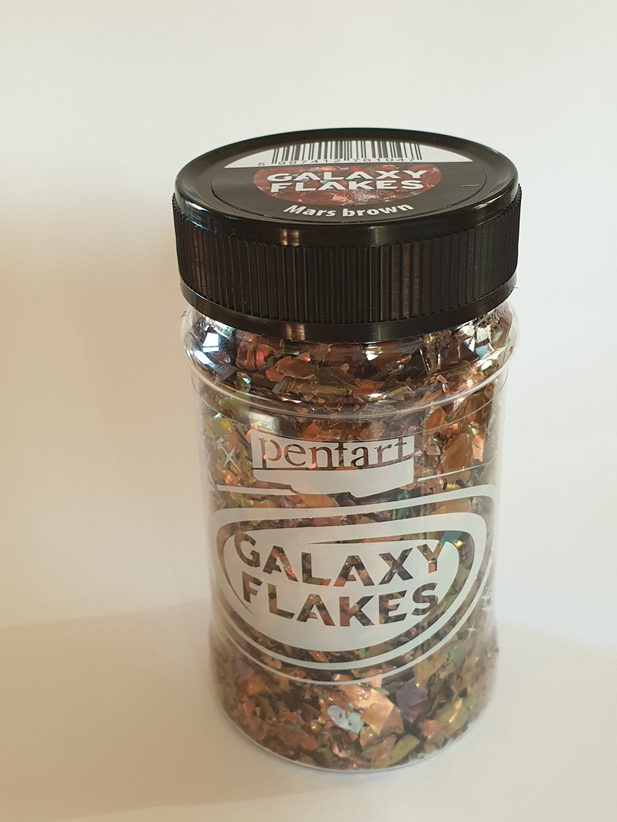 Galaxy Flakes, Mars  brown